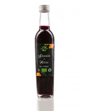 Organic aronia and honey juice, Aromela brand