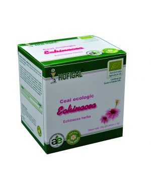 ORGANIC ECHINACEA (CONEFLOWER) TEA - 25 Sachets - 1.0 G Each/box