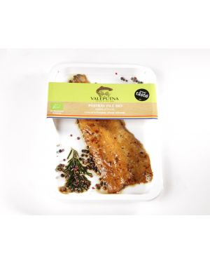 Organic  file smoked Trout