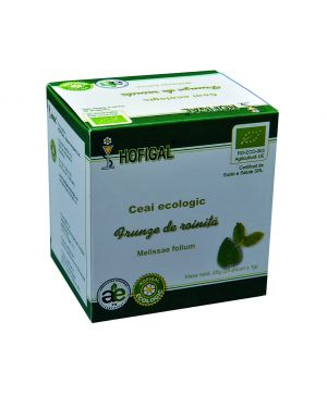 ORGANIC LEMON BALM TEA - 25 sachets - 1.0 g each/box