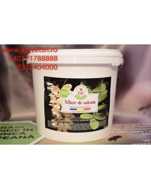 Acacia Natural Honey in plastic pails of 14 kg