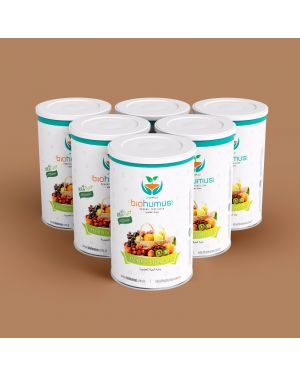 Biohumus Organic Fertilizer 1750 Ml %100 Naturel ( Organic Certified Reg.(EC), NOP, JAS)