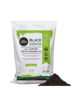 Black Coco All Purpose Fertile Growing Mix – 50L