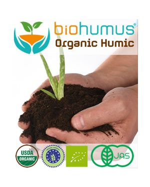 Humic Asid With Free Amino Asid Biohumus Organic Fertilizer For Fruit Trees %100 Naturel ( Organic Certified Reg.(EC), NOP, JAS)