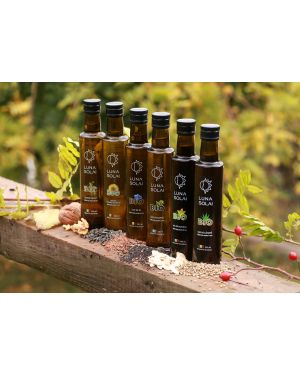 Organic Walnut oil, Luna Solai pressed cold