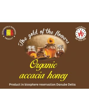 Organic accacia honey