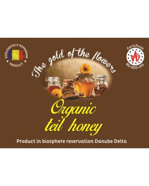 Organic teil honey