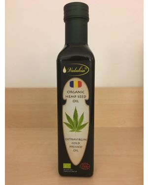 ORGANIC COLD PRESSED HEMP SEED OIL