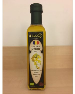 ORGANIC COLD PRESSED RAPESEED OIL