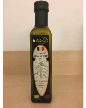 ORGANIC COLD PRESSED SESAME SEED OIL
